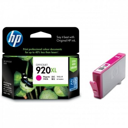 HP originální ink CD973AE, HP 920XL, magenta, 700str., HP Officejet