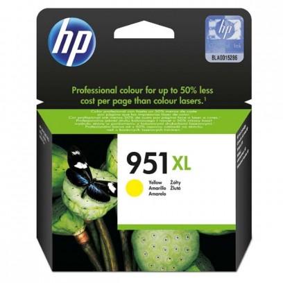 HP originální ink CN048AE, HP 951XL, yellow, 1500str., 17ml, HP Officejet Pro 276dw, 8100 ePrinter,8620