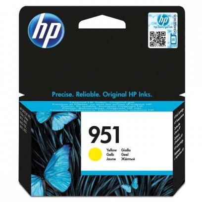 HP originální ink CN052AE, HP 951, yellow, 700str., pro HP Officejet Pro276dw, 8100 ePrinter