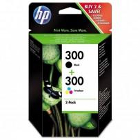 Sada HP 300, černá + barevná