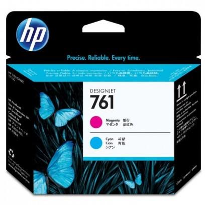 HP originální tisková hlava CH646A, magenta/cyan, HP 761, HP DesignJet T7100
