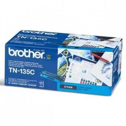 Toner Brother TN-135C modrý