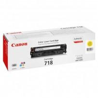 Toner Canon CRG-718 žlutý