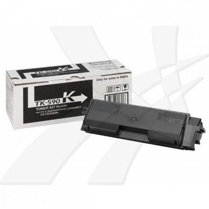 Kyocera originální toner TK590K, black, 7000str., 1T02KV0NL0, Kyocera FS-C 2026/2126MFP
