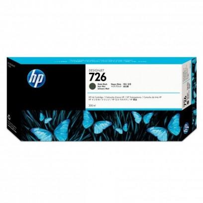 HP originální ink CH575A, HP 726, matte black, 300ml, HP HP DesignJet T1200