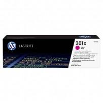 HP originální toner CF403X, magenta, 2300str., HP 201X, HP Color LaserJet MFP 277, Pro M252, 770g