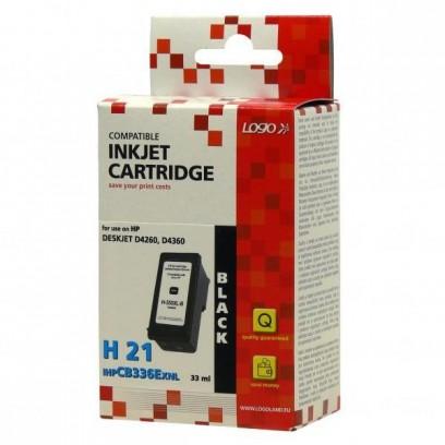 Logo kompatibilní ink s CB336EE, HP 350XL, black, 30ml, pro HP Officejet J5780, J5785