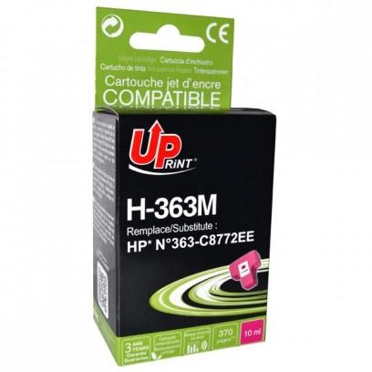 UPrint kompatibilní ink s C8772EE, HP 363, magenta, 10ml, H-363M, pro HP Photosmart 8250, 3210, 3310, C5180, C6180, C7180