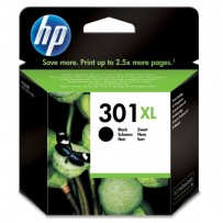 HP originální ink CH563EE, HP 301XL, black, blistr, 480str., HP HP Deskjet 1000, 1050, 2050, 3000, 3050