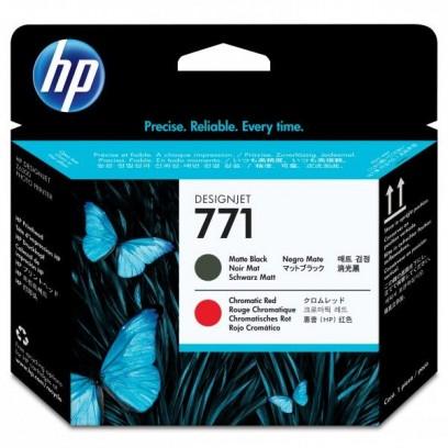 HP originální tisková hlava CE017A, HP 771, matte black/chromatic red, HP HP Designjet Z6200, Z6600, Z6800