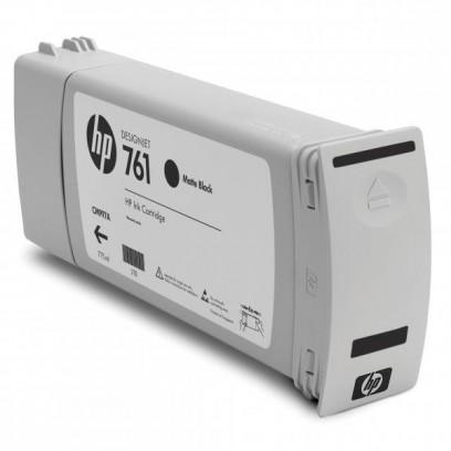 HP originální ink CM997A, matte black, 775ml, HP 761, HP DesignJet T7100