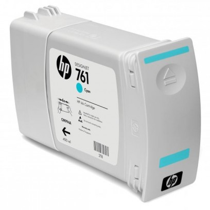 HP originální ink CM994A, cyan, 400ml, HP 761, HP DesignJet T7100