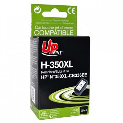 UPrint kompatibilní ink s CB336EE, HP 350XL, black, 35ml, H-350XL-B, pro HP Officejet J5780, J5785