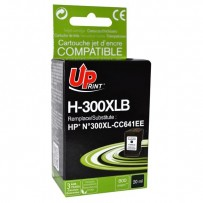 UPrint kompatibilní ink s CC641EE, HP 300XL, black, 19ml, H-300XL-B, pro HP DeskJet D2560, F4280