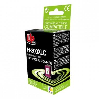 Kompatibilní HP 300XL, HP CC644EE barevná, 19ml