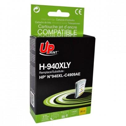 UPrint kompatibilní ink s C4909AE, HP 940XL, yellow, 35ml, H-940XL-Y, pro HP Officejet Pro 8000, Pro 8500