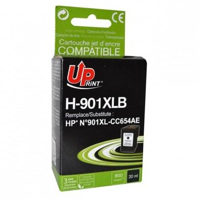 UPrint kompatibilní ink s CC654AE, HP 901XL, black, 20ml, H-901XLB, pro HP OfficeJet J4580