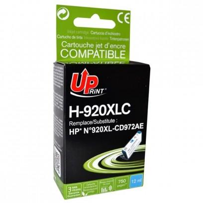 UPrint kompatibilní ink s CD972AE, HP 920XL, cyan, 12ml, H-920XLC, pro HP Officejet