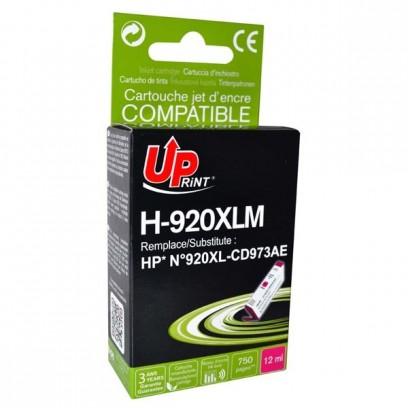UPrint kompatibilní ink s CD973AE, HP 920XL, magenta, 12ml, H-920XLM, pro HP Officejet