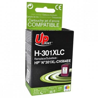 Kompatibilní HP 301XL, HP CH564EE barevná, 18ml
