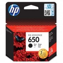 HP originální ink CZ101AE, HP 650, black, blistr, 360str., HP Deskjet Ink Advantage 2515 AiO, 3515 e-Ai0, 3545