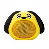 Promate Bluetooth reproduktor Snoopy, Li-Ion, 1.0, 3W, žlutý, bluetooth+USB konektor,pro děti