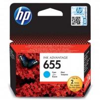 HP originální ink CZ110AE, HP 655, cyan, 600str., HP Deskjet Ink Advantage 3525, 5525, 6525, 4615 e-AiO