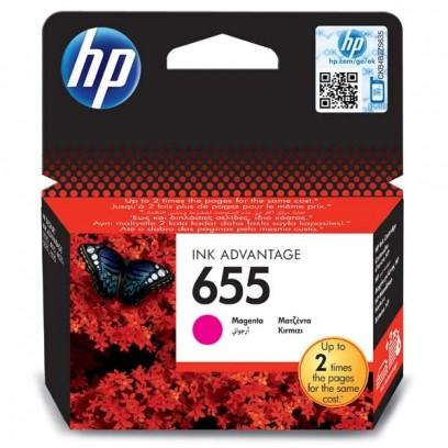 HP 655 červená, 12ml