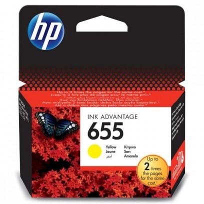 HP 655 žlutá, 12ml