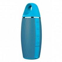 YZSY bluetooth reproduktor, FLABO, 2x5W, modrý, regulace hlasitosti, Bluetooth+USB konektor