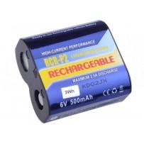 Avacom nabíjecí baterie CR-P2, DL223A Li-Fe, 6V, 500mAh, 3Wh, DICR-223-03B