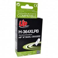 Kompatibilní HP 364XL, HP CB317EE foto černá, 15ml