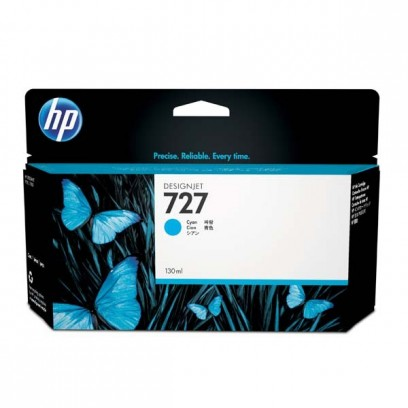 HP B3P19A, HP 727 azurová, 130ml