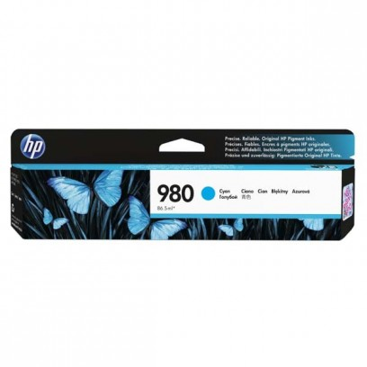 HP originální ink D8J07A, HP 980, cyan, HP HP OfficeJet Enterprise X585, X555