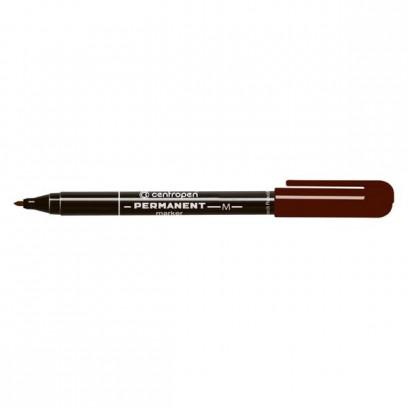 Centropen, marker 2846, hnědý, 10ks, 1mm, alkoholová báze, cena za 1ks