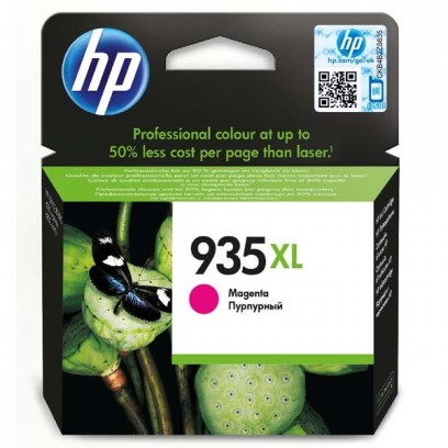 HP originální ink C2P25AE, HP 935XL, magenta, blistr, 825str., 9,5ml, HP Officejet 6812,6815,Officejet Pro 6230,6830,6835