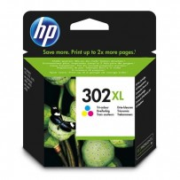 HP originální ink sada F6U67AE, HP 302XL, color, 330str., 8ml, HP OJ 3830,3834,4650, DJ 2130,3630,1010, Envy 4520