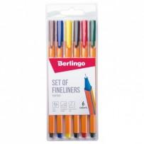 Berlingo, sada linerů Rapido, color, 6ks, 0.4mm