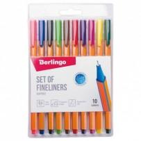Berlingo, sada linerů Rapido, color, 10ks, 0.4mm
