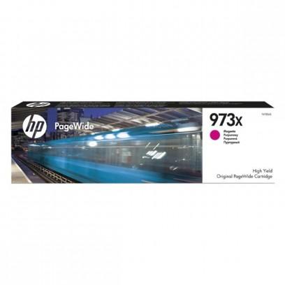 HP originální ink F6T82AE, HP 973X, magenta, 7000str., 82ml, HP PageWide Pro 452, Pro 477