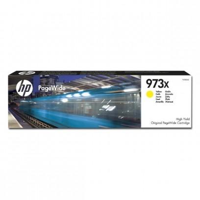 HP originální ink F6T83AE, HP 973X, yellow, 7000str., 82ml, HP PageWide Pro 452, Pro 477