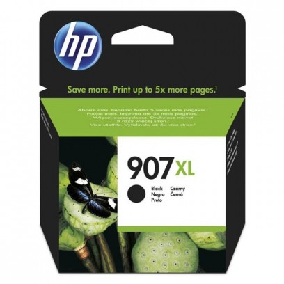 HP originální ink T6M19AE, HP 907XL, black, 1500str., 37ml, extra high capacity, HP Officejet 6962,Pro 6960,6961,6963,6964,69...