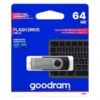 Goodram USB flash disk, 3.0, 64GB, UTS3, černá, UTS3-0640K0R11