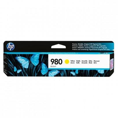 HP originální ink D8J09A, HP 980, yellow, HP HP OfficeJet Enterprise X585, X555