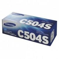 Toner Samsung CLT-C504S modrý