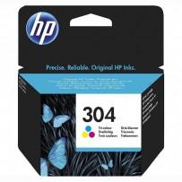 HP 304, HP N9K05AE, barevná, 2ml, blistr