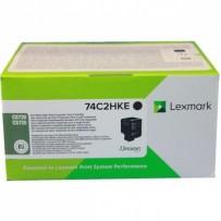 Toner Lexmark 74C2HKE černý