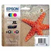 Zvýhodněná sada Epson 603XL černá + modrá + červená + žlutá