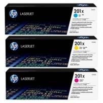 Zvýhodněná sada barevných tonerů HP CF401X, CF402X, CF403X, HP 400X - 3ks