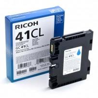 Gelová náplň Ricoh GC41CL modrá